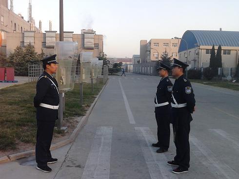 我司保安人员进驻泰科电子集团青岛工厂[2012-12-6];